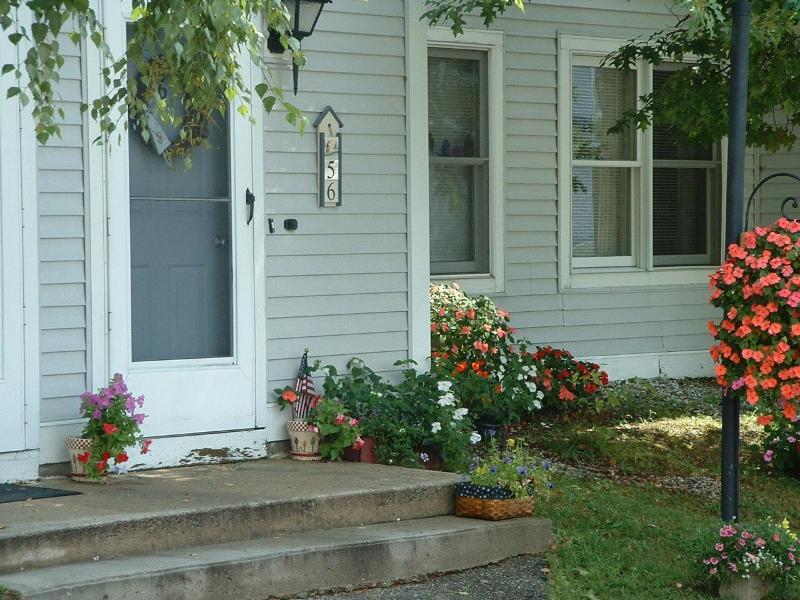Front entrance - Brook Farm Village Condo Rentals ( ONE & TWO BD. C - Rochester - rentals
