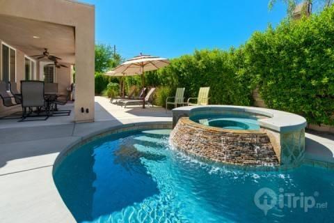 Salt Water Spa and Pool - Luxury Villa W/Casita at Shadow Trail - La Quinta - rentals