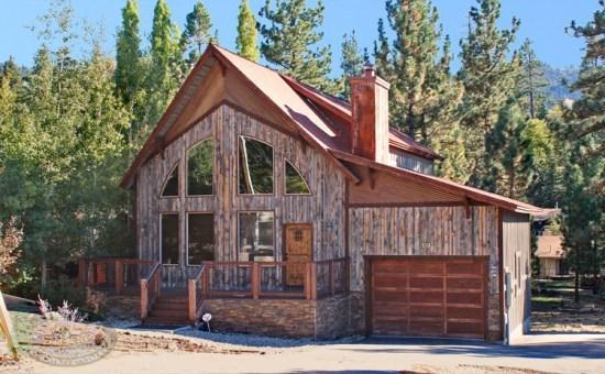 Canyon Retreat Cabin a sunny and wooded Vacation Cabin in Big Bear near Bear Mountain Ski Resort and Golf Course. - Image 1 - Big Bear Lake - rentals