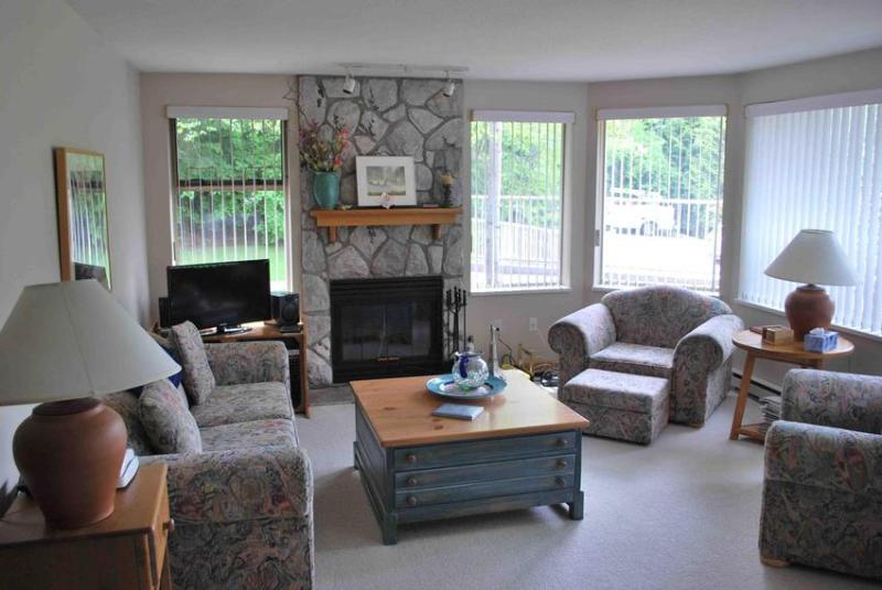 Living Area - Gleneagles - Whistler - rentals