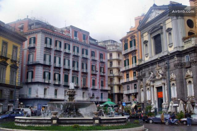 My B&B is situated in this XVIII century building - Relax in the heart of Naples (wi-fi) - Naples - rentals