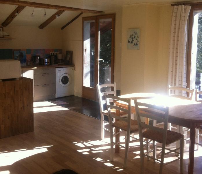 Kitchen diner - Argentiere Ski Apartment - Chamonix - rentals