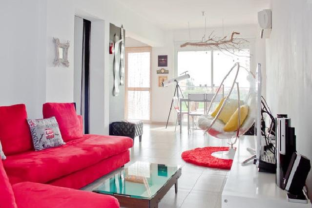 The playful living room - Stylish and playful pool apartment - Larnaca District - rentals