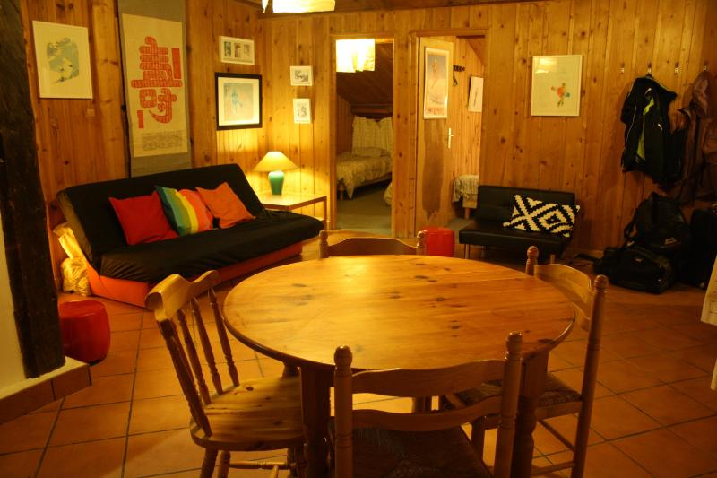 living room - Argentiere Skiers and walkers - Chamonix - rentals