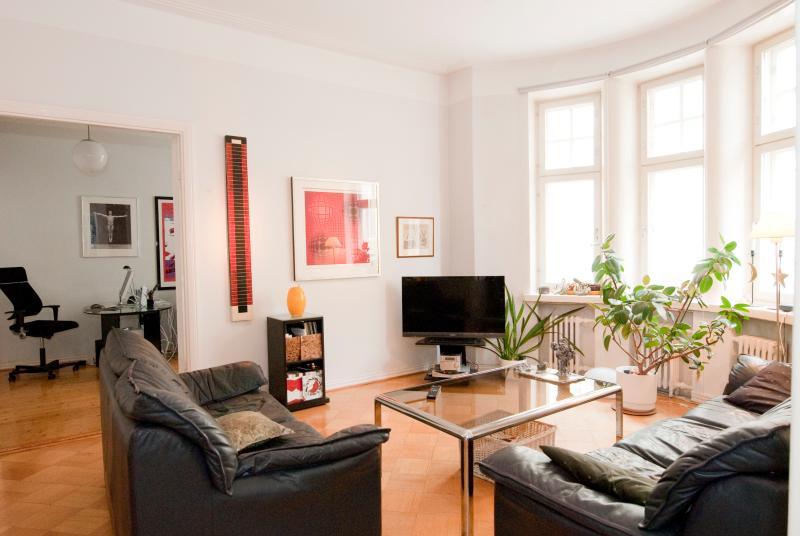 Living room - City center apartment - Helsinki - rentals