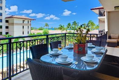 Spacious Lanai with Ocean View - Beach Villas OT-311 - Kapolei - rentals