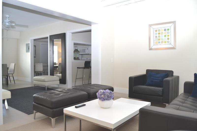Living Room - Two Bedroom Suite  #28 close to beach! - Fort Lauderdale - rentals