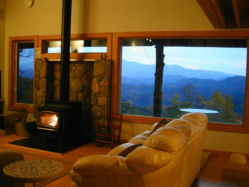 Panoramic, 5 STAR, long range views from Living Room, Dining + Bedrooms - Hawks View, Spectacular 5 STAR Views, PRIVATE - Blowing Rock - rentals