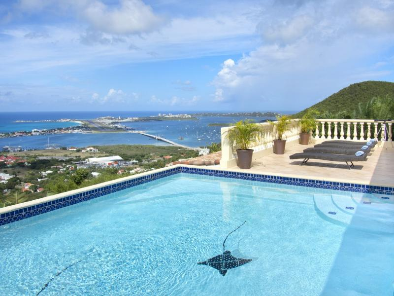Villa Vista at Almond Grove, Saint Maarten - Sunset Views, Panoramic Views, Gated Community - Image 1 - Sint Maarten - rentals