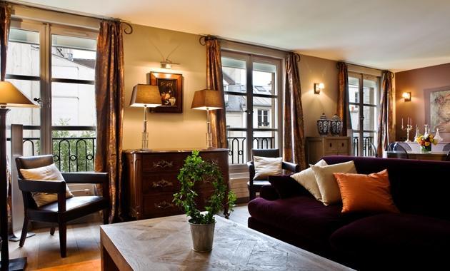 Apartment Bernadins Paris apartment in 1st arrondissement, one bedroom apartment Paris, short term rental Paris, luxury apartment Paris - Image 1 - 1st Arrondissement Louvre - rentals