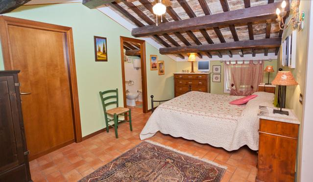 main bedroom - Spello - Heart of the medieval city center - Spello - rentals