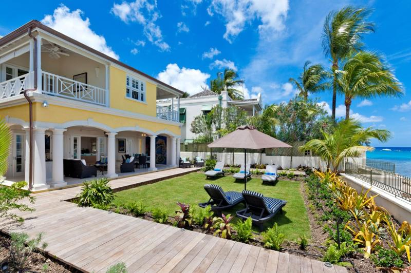 Still Fathoms at St. James, Barbados - Beachfront, Amazing Sunset View, Pool - Image 1 - Saint James - rentals