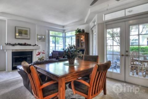 Living Room and Dining Room open to patio - Inland Sea Breeze - Oceanside - rentals