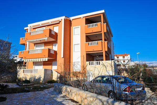 Apartment Jenny 3 for 6 persons on the second floor with great sea view in Novalja - Image 1 - Novalja - rentals