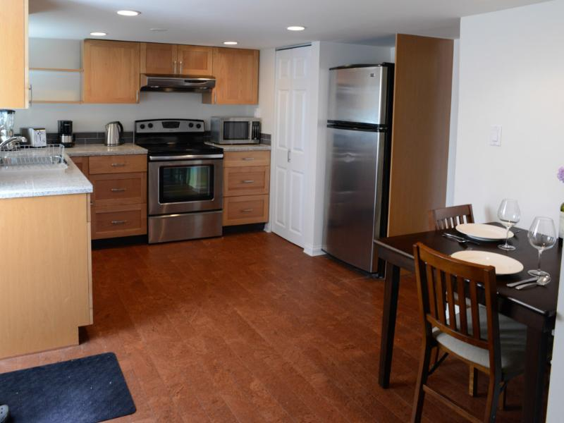 Kitchen - New Suite in Gorgeous Character Home by the Beach! - Victoria - rentals
