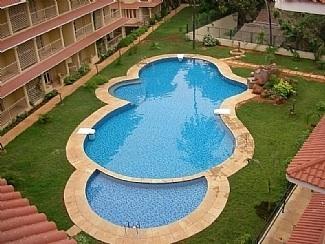 Villa Vera swimming pool - Luxury Self Catering  Apartment, Arpora,  Goa - Goa - rentals