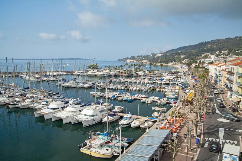 Vue sur le port - Captain's apartment near Cannes - Golfe-Juan Vallauris - rentals