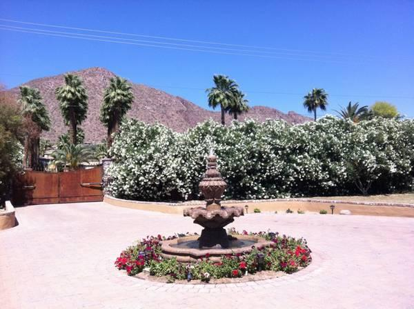 View from Villa - BEAUTIFUL GUEST VILLA WITH CAMELBACK MOUNTAIN VIEW - Phoenix - rentals