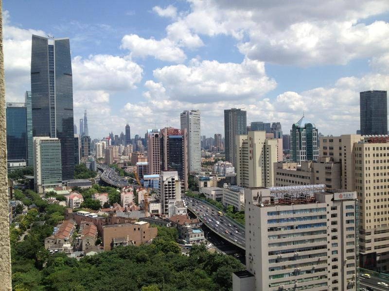 One of the best views of Jingan and Puxi - Eagle's Nest Flat on Nanjing West Road - Shanghai - rentals