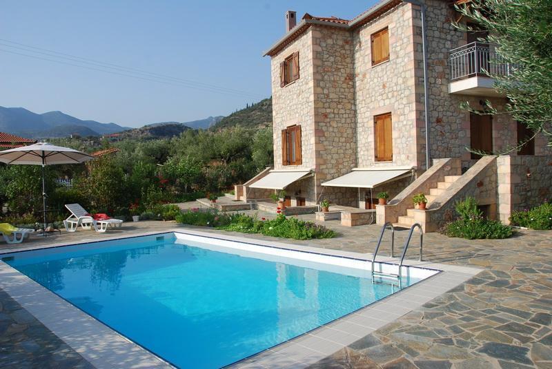 Property external view - Villa in Kardamyli, Peloponese - Kardamili - rentals