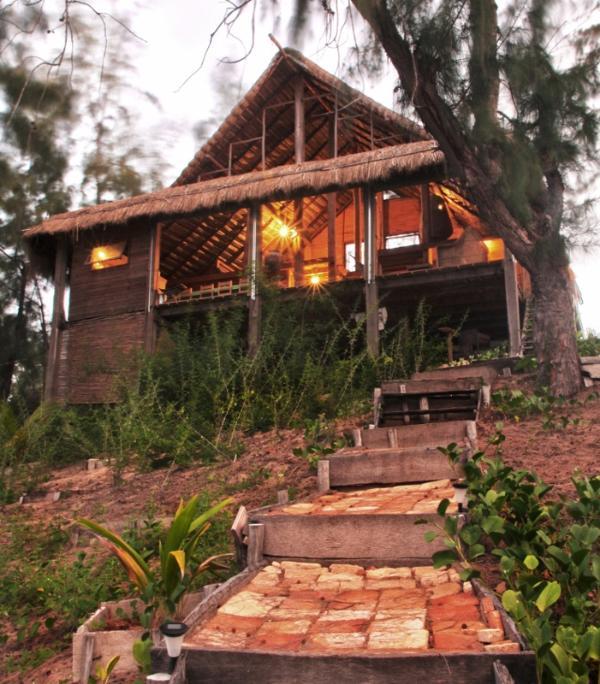 Algodoal dusk - Casa Algodoal Charming Beach Villa - Tofinho - rentals
