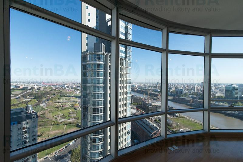 Stunning Flat with Floor-to-Ceiling Views from 26th Floor (ID#516) - Image 1 - Buenos Aires - rentals