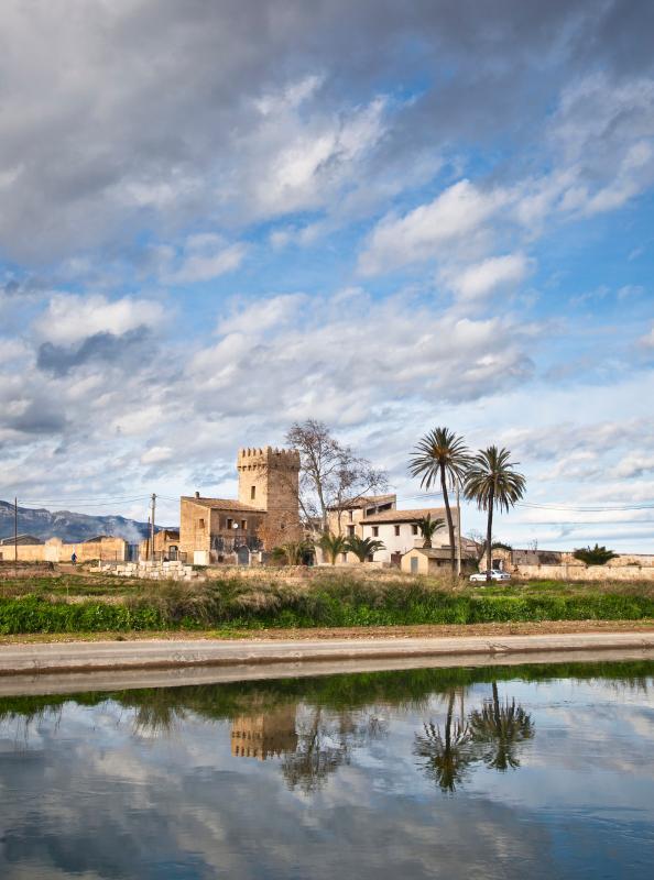 Panoramic view - Casa rural Torre del Prior - Tortosa - rentals