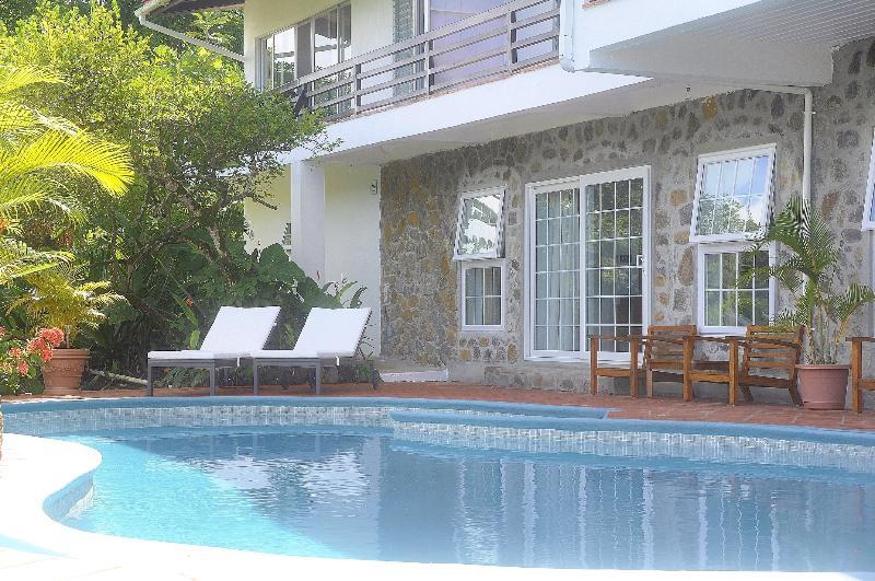 entrance Clarance studio - The luxury Clarance Studio at Marigot Palms - Marigot Bay - rentals