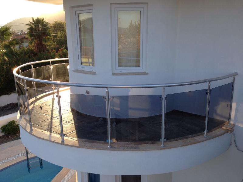 Balcony - 5 bedroom ultramodern villa private pool - Dalyan - rentals