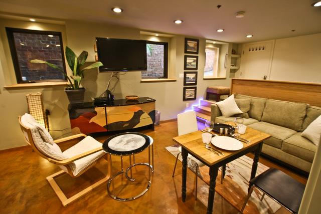 Living room - Alamo Square Studio - San Francisco - rentals