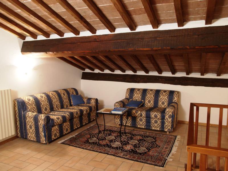 Living Room - Flat for 10 p.  Montepulciano - Historical Centre - Montepulciano - rentals