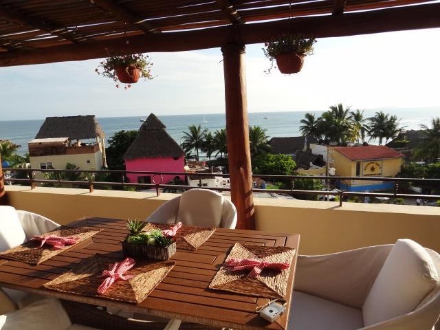Unbeatable ocean views! - Luxury Penthouse condo! Panoramic ocean views!!! - Punta de Mita - rentals