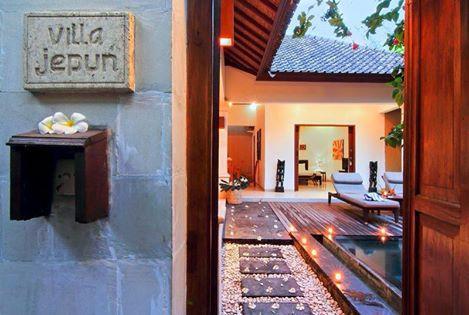 Entrance to Villa Jepun - Villa Jepun at The Beach House Resort Gili Trawangan - Gili Trawangan - rentals