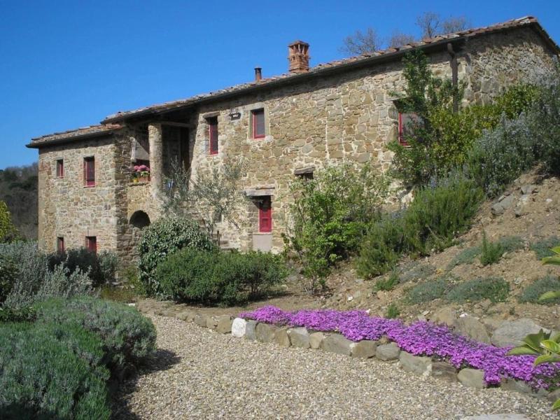 Bel Sorriso, the house of the beautiful smile - DREAM LOCATION IN CHIANTI:  POOL, GARDEN, PRIVACY - Gaiole in Chianti - rentals