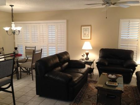 Living area - Sailmaker 401 - Amelia Island - rentals