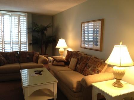 Living area - Shipwatch 1309 - Amelia Island - rentals
