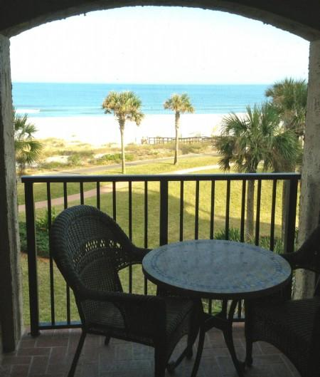 Oceanside balcony - Sea Dunes 1641 - Amelia Island - rentals