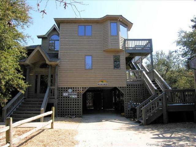Front Elevation - Yellow Brick Road - Southern Shores - rentals