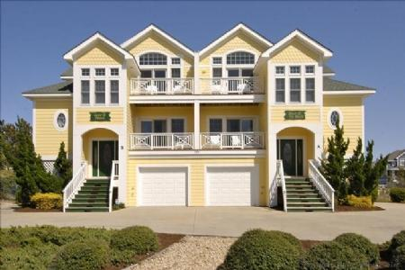 Exterior front - Love 'R Shack at the Beach - Corolla - rentals