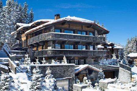 Elegant Chalet Edelweiss offers spa and fitness areas, maid and chef services - Image 1 - Courchevel - rentals
