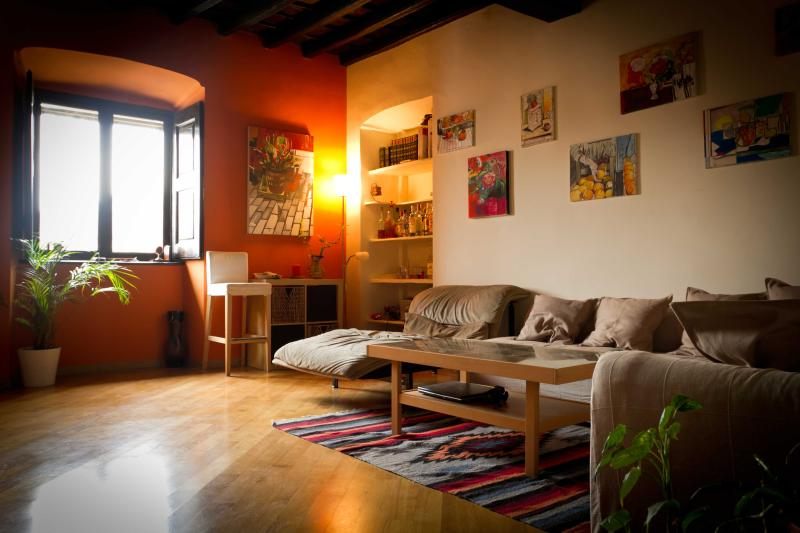Living room - Casa Palatina...feels like home in Turin city centre - Turin - rentals