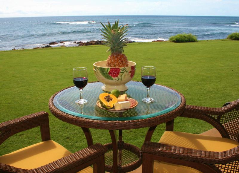 Wine on the Lanai! - Poipu Oceanfront Dream Getaway! - Koloa - rentals