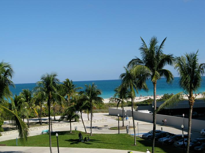 view from your private balcony - Beautiful apt for rent South Beach, ocean views - Miami Beach - rentals