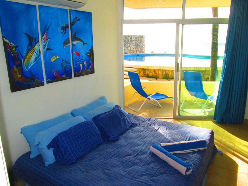 The Bedroom - Oceanview one bedroom condo - Cozumel - rentals