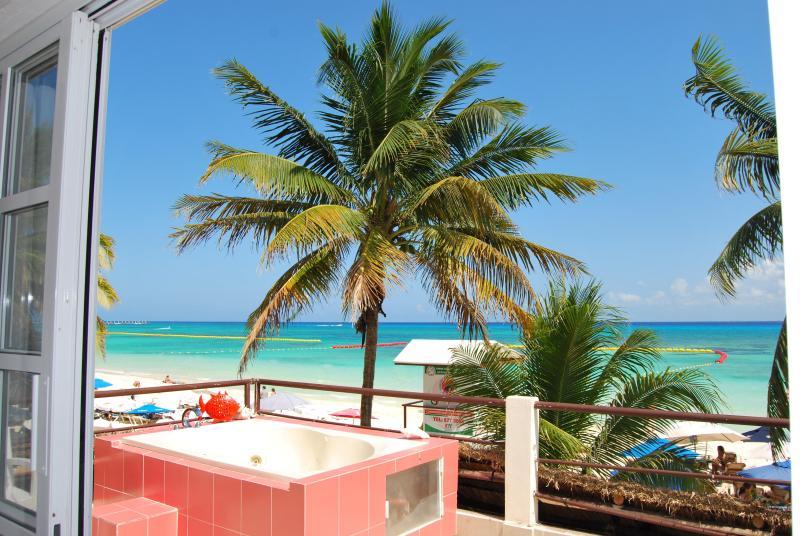 Terrace - SKYLINE Suite on the Beach - Playa del Carmen - rentals