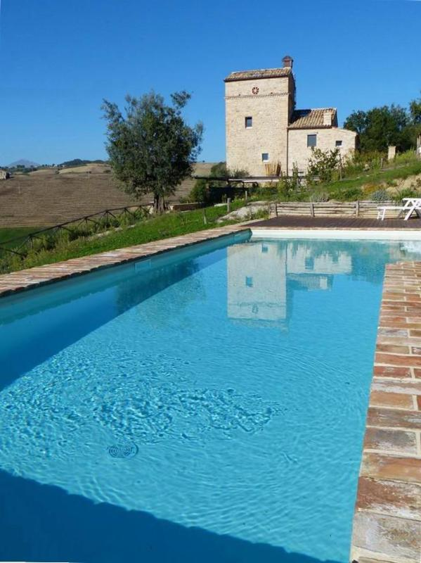 watchtower house with pool in Le Marche,Italy - Image 1 - Montedinove - rentals