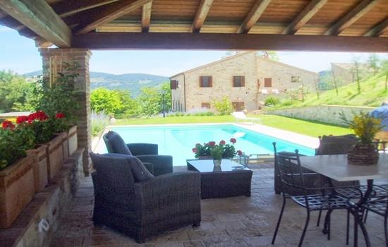 Todi 16 century Country Villa with pool - Image 1 - Todi - rentals