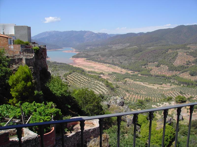 Views from the terrace - Rural holiday accommodation with spectacular views - Jaen - rentals