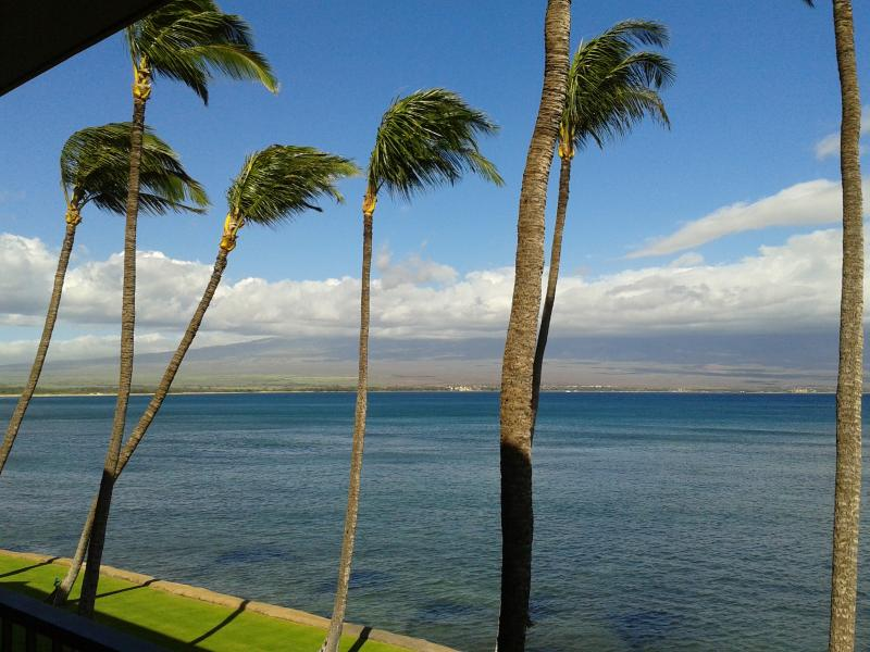 "Simply Breathtaking!! Unobstructed Ocean Views from Lanai - Brand New Direct Ocean Front "" Super Luxury"" condo - Maalaea - rentals"