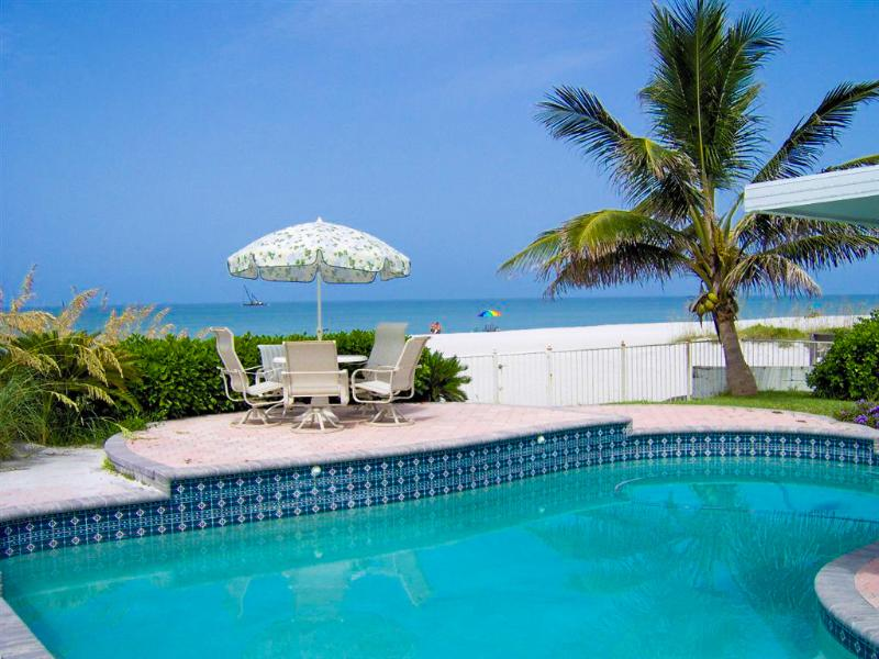 The Sunset House / Beach Front with Pool & Hot Tub - Image 1 - Clearwater - rentals